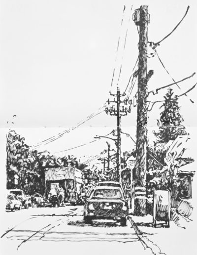 41st and Terrace - Ink - 12x9