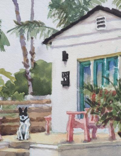 Ocean Beach Cottage - Watercolor - 11x14